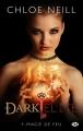 Couverture Dark Elite, tome 1 : Magie de feu Editions Milady (Bit-lit) 2014