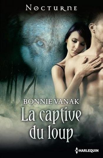 couverture de la captive du loup de Bonnie Vanak
