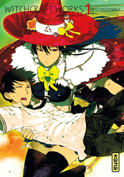 Couverture Witchcraft Works, tome 1
