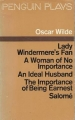 Couverture Penguin Plays : Lady Windermere's Fan, A Woman of No Importance, An Ideal Husband, The Importance of Being Earnest, Salomé Editions Penguin books 1971
