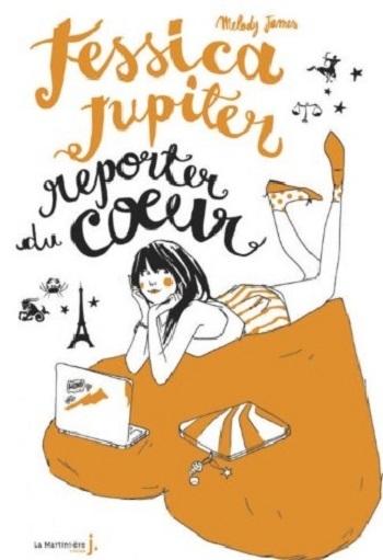 Couverture Jessica Jupiter, tome 3 : Jessica Jupiter, Reporter du coeur