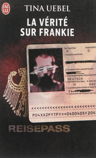 Couverture La vérité sur Frankie