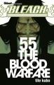 Couverture Bleach, tome 55 : The Blood Warfare Editions Glénat (Shônen) 2013