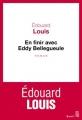 Couverture En finir avec Eddy Bellegueule Editions Seuil 2014