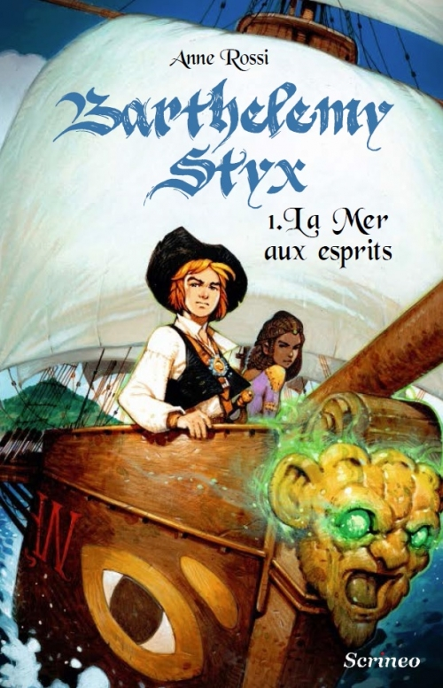 Couverture Barthélémy Styx, tome 1 : La mer aux esprits