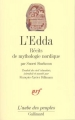 Couverture L'Edda Editions Gallimard  (L'aube des peuples) 1991