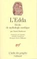 Couverture L'Edda Editions Gallimard  (L'aube des peuples) 1991