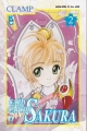 Couverture Card Captor Sakura, tome 02 Editions Star Comics 1999