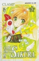Couverture Card Captor Sakura, tome 03 Editions Star Comics 1999