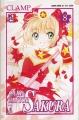 Couverture Card Captor Sakura, tome 08 Editions Star Comics 2000