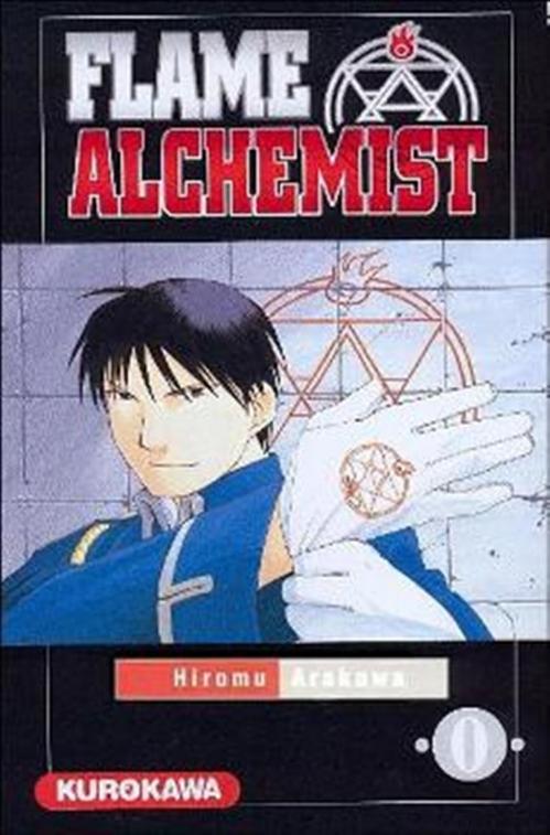 Couverture Fullmetal alchemist : Flame alchemist