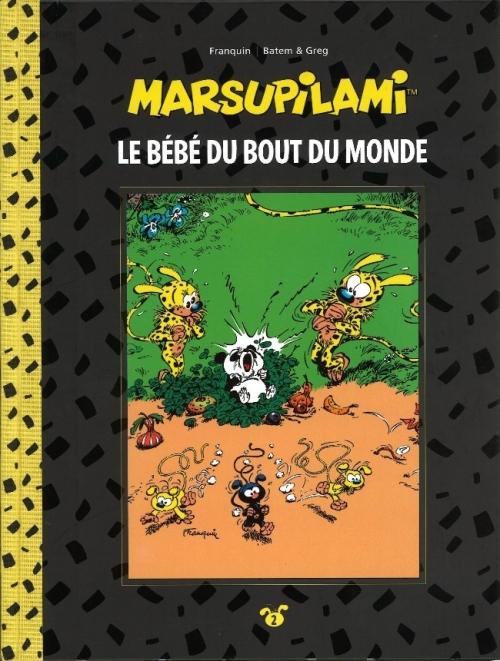 Couverture Marsupilami, tome 02 : Le bébé du bout du monde