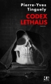Couverture Codex Lethalis, tome 1 Editions Micro Application 2014