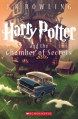 Couverture Harry Potter, tome 2 : Harry Potter et la chambre des secrets Editions Scholastic 2013