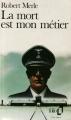 Couverture La mort est mon métier Editions Folio  1978