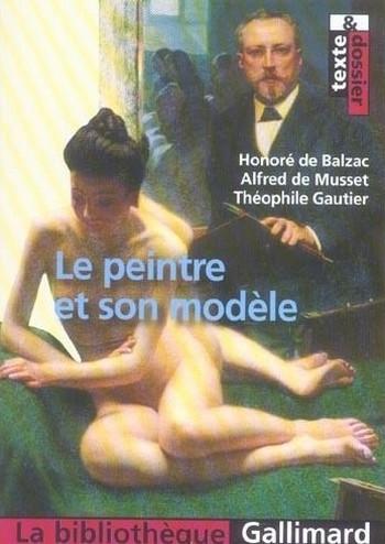 Couverture Le peintre et son modèle