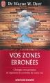 Couverture Vos zones erronées Editions J'ai Lu (Aventure secrète) 2014