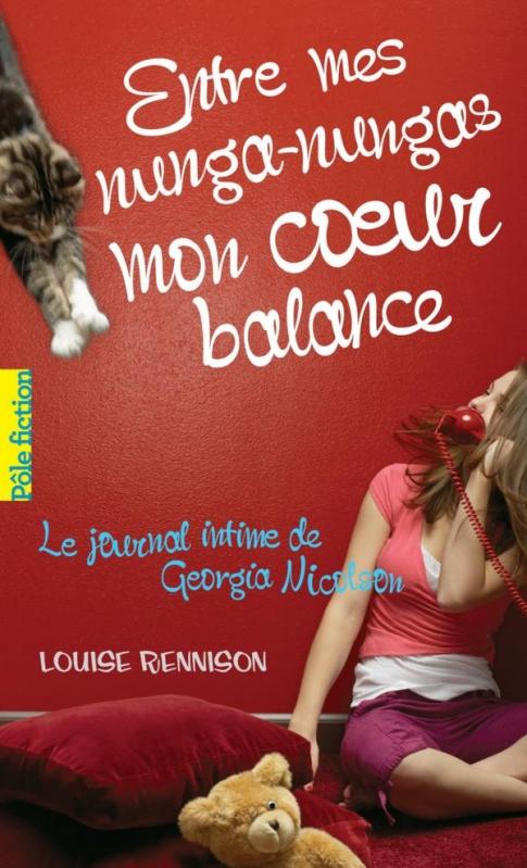 Couverture Le journal intime de Georgia Nicolson, tome 03 : Entre mes nunga-nungas, mon coeur balance