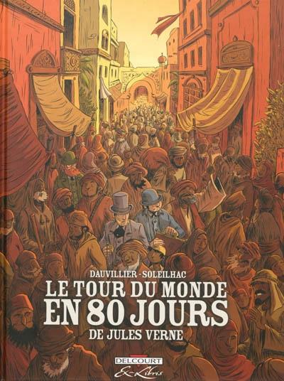 Couverture Le tour du monde en 80 jours (BD, intégrale)