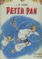 Couverture Peter Pan (roman) Editions Fabbri 1965