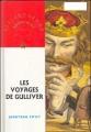 Couverture Les voyages de Gulliver Editions Nathan (Bibliothèque Rouge et or) 1996
