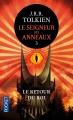 Couverture Le Seigneur des Anneaux, tome 3 : Le retour du roi Editions Pocket 2013