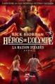 Couverture Héros de l'Olympe, tome 4 : La maison d'Hadès Editions Albin Michel (Jeunesse - Wiz) 2014