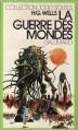 Couverture La guerre des mondes Editions Gallimard  (1000 soleils) 1973