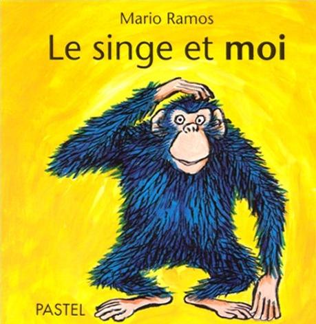 Couverture Le singe et moi