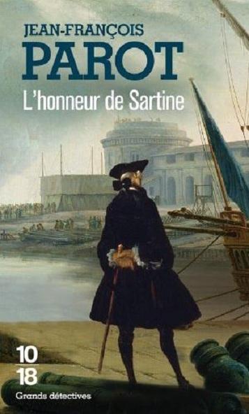 Couverture L'honneur de Sartine