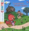 Couverture La petite poule rousse Editions Milan (Mes p'tits contes) 2012