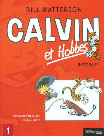 Couverture Calvin et Hobbes, intégrale, tome 1