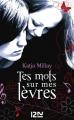 Couverture Tes mots sur mes lèvres Editions 12-21 2014