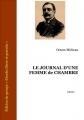 Couverture Journal d'une femme de chambre Editions Ebooks libres et gratuits 2008