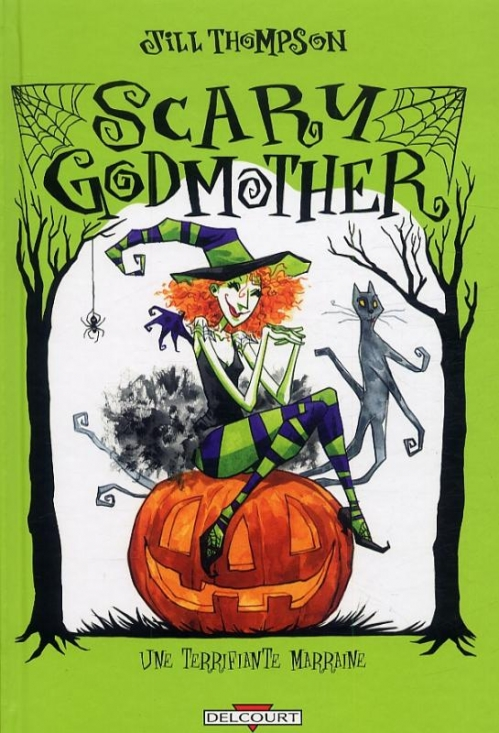 Couverture Scary godmother