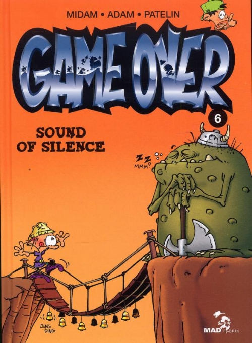 Couverture Game over, tome 06 : Sound of silence