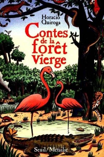Couverture Contes de la forêt vierge