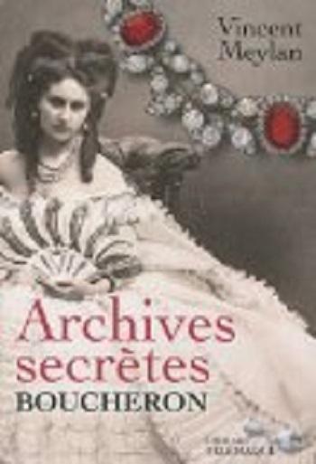 Couverture Archives secrètes BOUCHERON