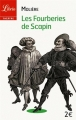 Couverture Les Fourberies de Scapin Editions Librio (Théâtre) 2013