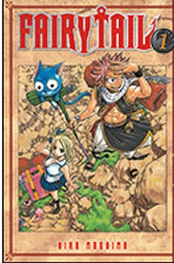 Couverture Fairy Tail, double, tomes 01 et 02