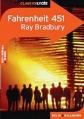 Couverture Fahrenheit 451 Editions Belin / Gallimard (Classico - Lycée) 2001