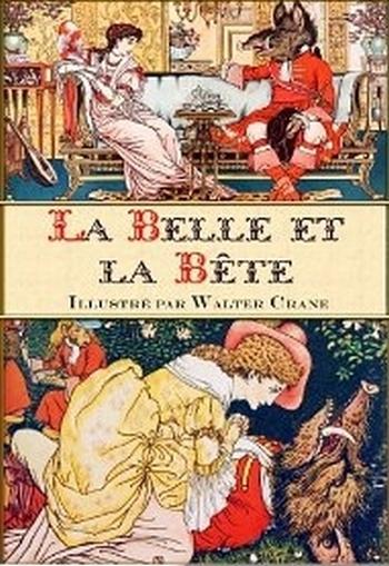 Couverture La Belle et la Bête, illustré (Crane)