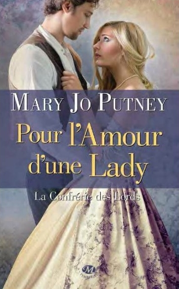 Couverture La confrérie des lords, tome 2 : Pour l'amour d'une lady