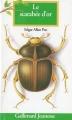 Couverture Le scarabée d'or Editions Gallimard  (Jeunesse) 1994