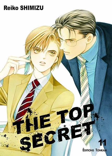 Couverture The Top Secret, tome 11