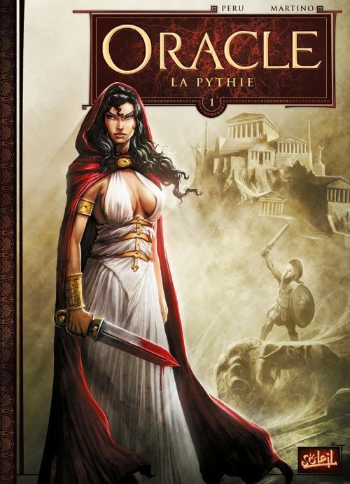 Couverture Oracle, tome 1 : La Pythie