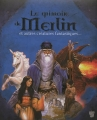Couverture Le grimoire de Merlin : Toute l'histoire du fantastique et du merveilleux / Le Grimoire de Merlin et autres créatures fantastiques Editions Des Deux coqs d'or 2012