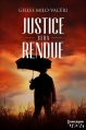 Couverture Justice sera rendue Editions Harlequin (HQN) 2014
