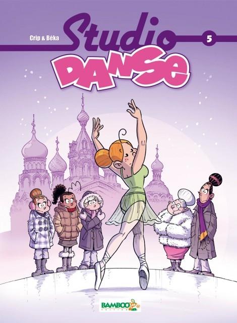 Couverture Studio Danse, tome 5