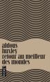 Couverture Retour au meilleur des mondes Editions Pocket 2013